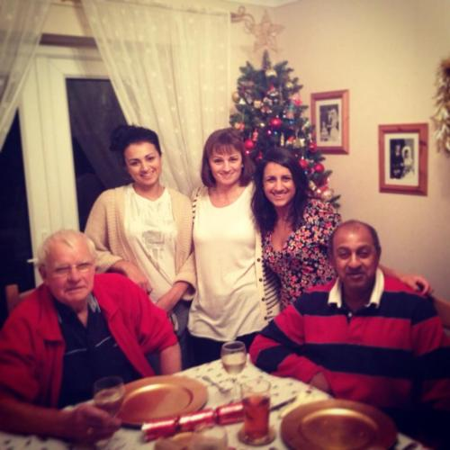 Christmas with the family