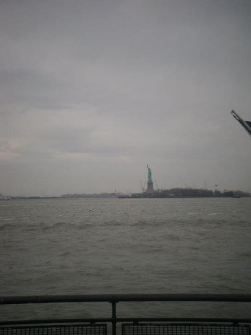 The Statue of Liberty, we didn't get the boat out to Staten Island on this visit but have previously
