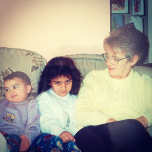 Laura, me and Nanny