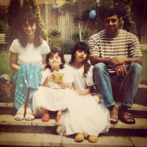 Mum, Laura, Me and Dad